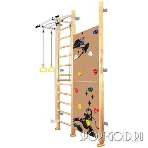 Детский спортивный комплекс Kampfer Jungle Wall (Girl, Boy) 3.0 м, Без покрытия