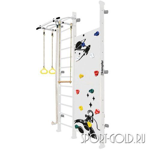 Детский спортивный комплекс Kampfer Jungle Wall (Girl, Boy) 3.0 м, Жемчужный