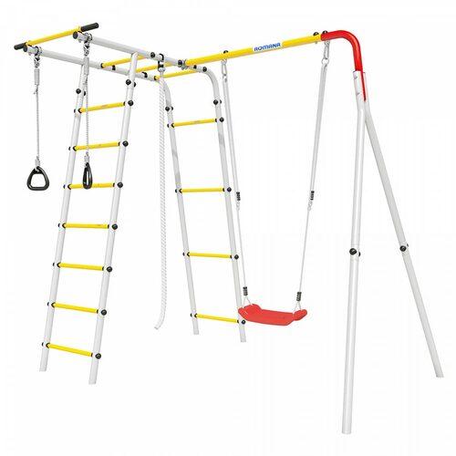 Детский спортивный комплекс для дачи ROMANA Лесная поляна-2 Пластиковые качели