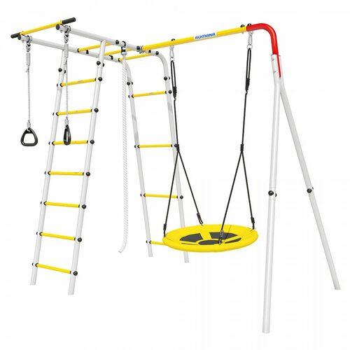 Детский спортивный комплекс для дачи ROMANA Лесная поляна-2 Качели Гнездо
