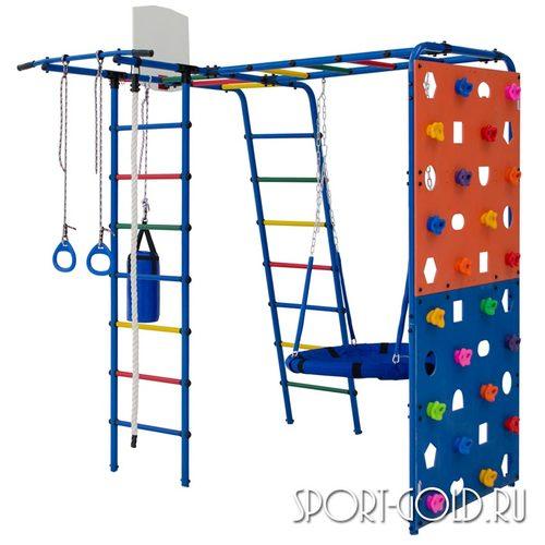 Детский спортивный комплекс для дачи ФОРМУЛА ЗДОРОВЬЯ Street 2 Синий