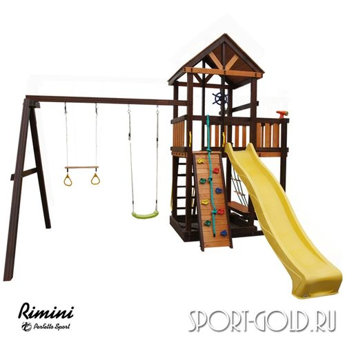 Детский игровой комплекс Perfetto Sport Rimini Кольца с трапецией