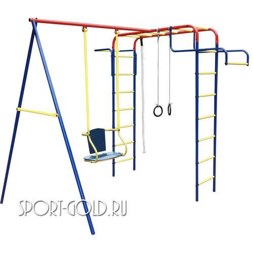 Детский спортивный комплекс для дачи ПИОНЕР Дачный Мини Качели ТК-2