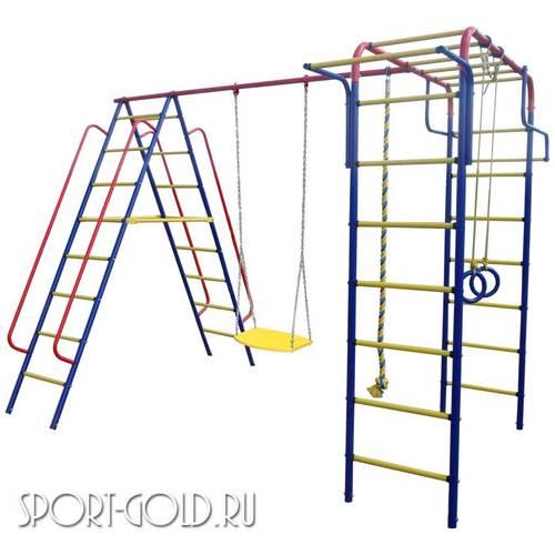 Детский спортивный комплекс для дачи ПИОНЕР Дачный Цепные качели