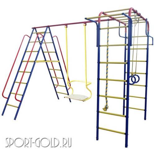 Детский спортивный комплекс для дачи ПИОНЕР Дачный Качели ТК