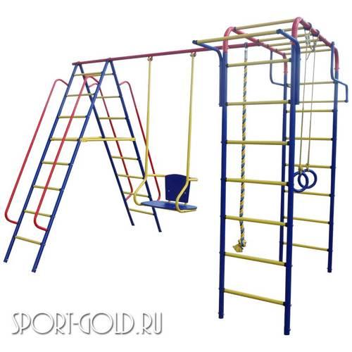 Детский спортивный комплекс для дачи ПИОНЕР Дачный Качели ТК-2