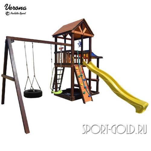 Детский игровой комплекс Perfetto Sport Verona Качели Шина