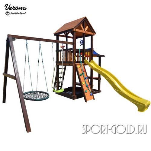 Детский игровой комплекс Perfetto Sport Verona Качели Гнездо