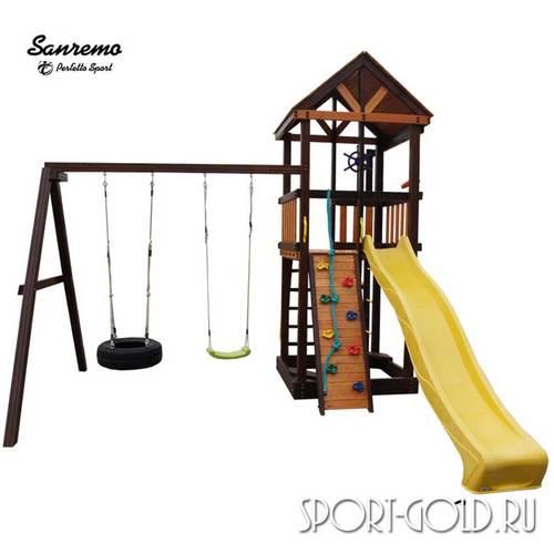 Детский игровой комплекс Perfetto Sport Sanremo Качели Шина