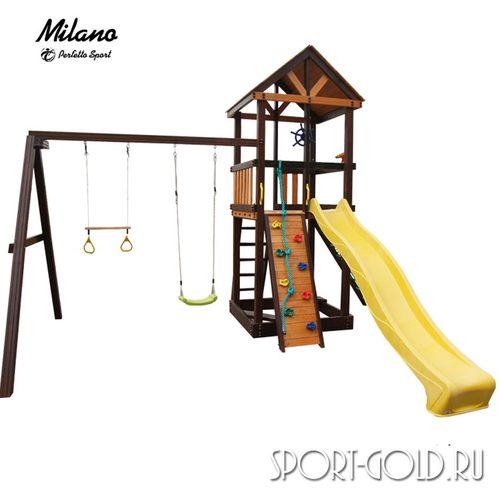 Детский игровой комплекс Perfetto Sport Milano Кольца с трапецией