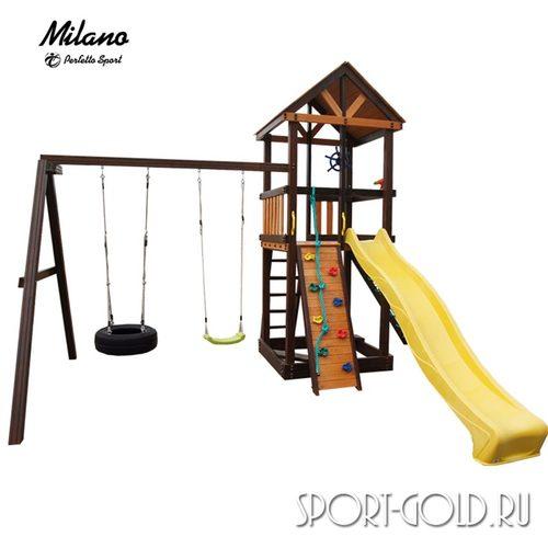 Детский игровой комплекс Perfetto Sport Milano Качели Шина