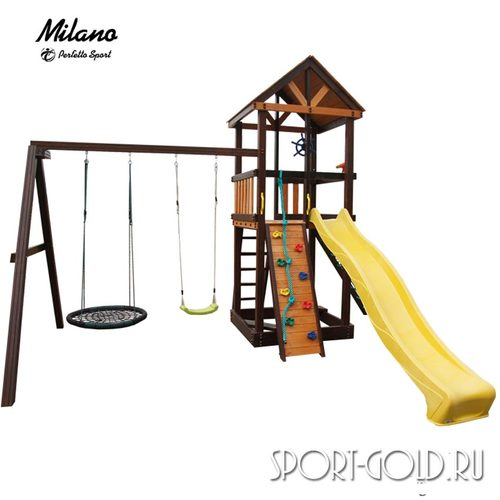 Детский игровой комплекс Perfetto Sport Milano Качели Гнездо