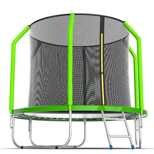 Батут EVO Jump Cosmo 6ft (1,83м) с сеткой и лестницей Без нижней сетки