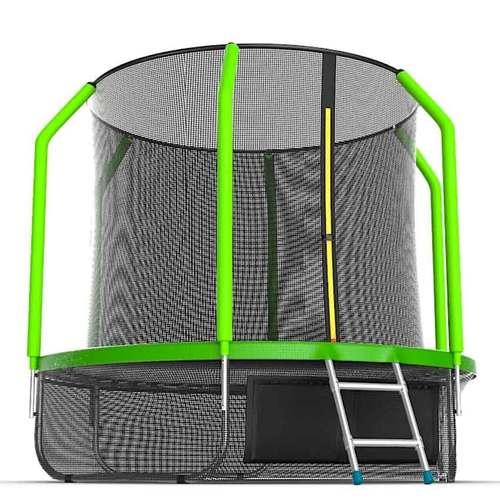 Батут EVO Jump Cosmo 6ft (1,83м) с сеткой и лестницей С нижней сеткой