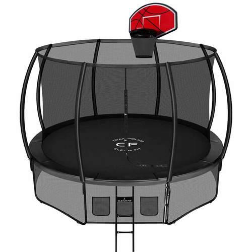Батут Clear Fit SpaceStrong 10ft (3,05 м) С баскетбольным щитом