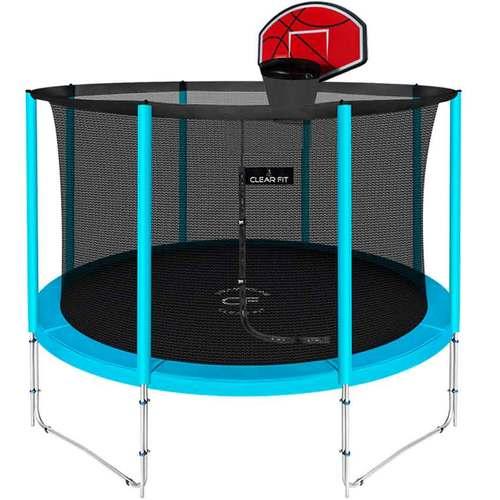 Батут Clear Fit ElastiqueStrong 10ft (3,05 м) С баскетбольным щитом