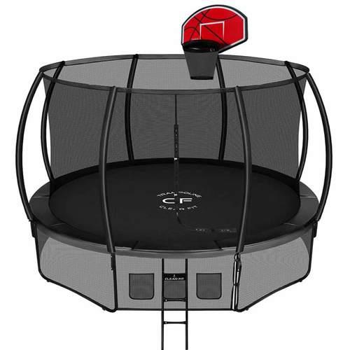 Батут Clear Fit SpaceStrong 12ft (3,66 м) С баскетбольным щитом
