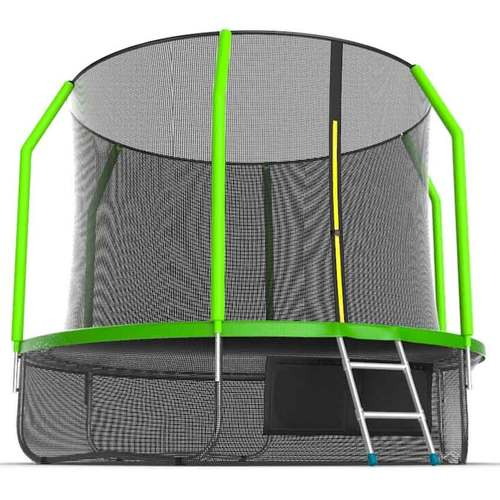 Батут EVO Jump Cosmo 10ft (3,05м) с сеткой и лестницей С нижней сеткой