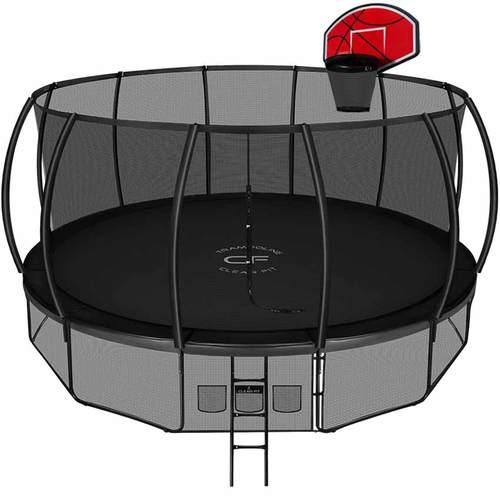 Батут Clear Fit SpaceStrong 16ft (4,87 м) С баскетбольным щитом