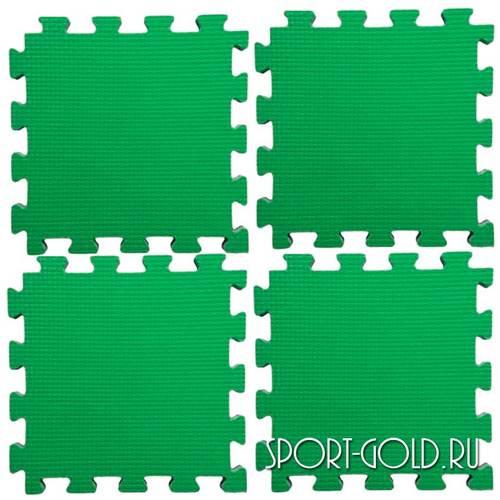 Коврик-пазл Kampfer №4 Будо-мат Зеленый