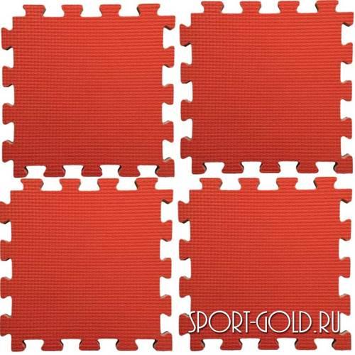 Коврик-пазл Kampfer №4 Будо-мат Красный