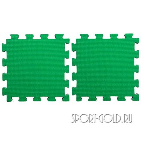 Коврик-пазл Midzumi №2, Будомат 50 х 100 х 2 см Зеленый
