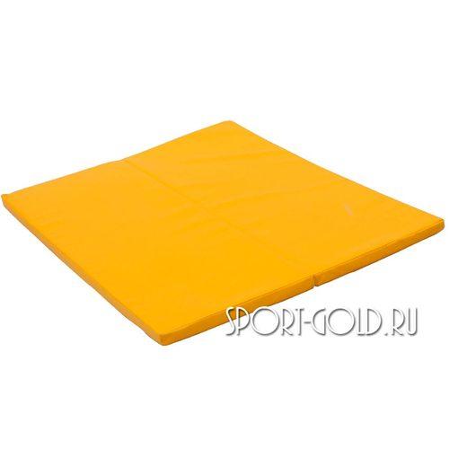 Спортивный мат Perfetto Sport №16, 135 х 123 х 4 см Желтый