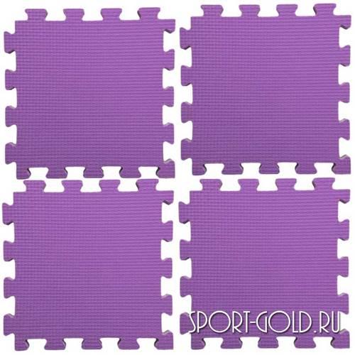 Коврик-пазл Midzumi №4 Будомат 100 х 100 х 2 см Фиолетовый