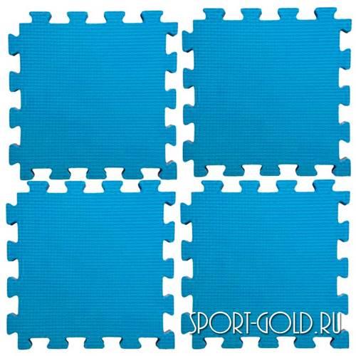 Коврик-пазл Midzumi №4 Будомат 100 х 100 х 2 см Голубой