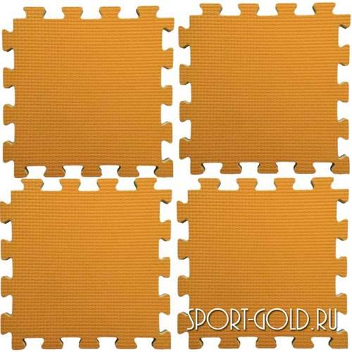 Коврик-пазл Midzumi №4 Будомат 100 х 100 х 2 см Оранжевый