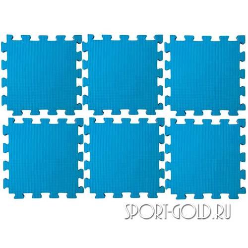 Коврик-пазл Midzumi №6 Будомат 150 х 100 х 2 см Голубой
