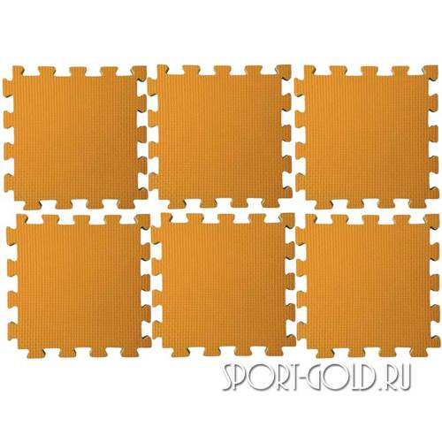 Коврик-пазл Midzumi №6 Будомат 150 х 100 х 2 см Оранжевый