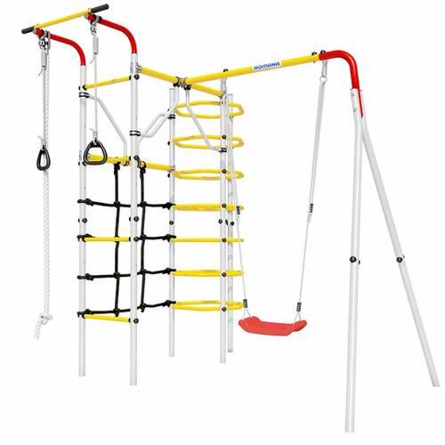 Детский спортивный комплекс для дачи ROMANA Космодром Пластиковые качели