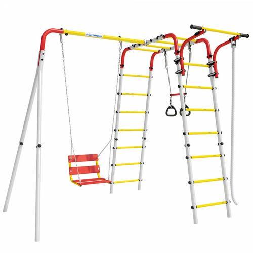 Детский спортивный комплекс для дачи ROMANA Веселая лужайка-2 Цепные качели