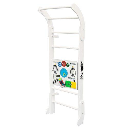 Детский спортивный комплекс Kampfer Baby Step Busyboard Жемчужный/Белый