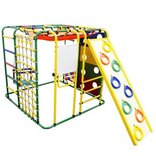 Детский спортивный комплекс ФОРМУЛА ЗДОРОВЬЯ Кубик-У Плюс Зеленый