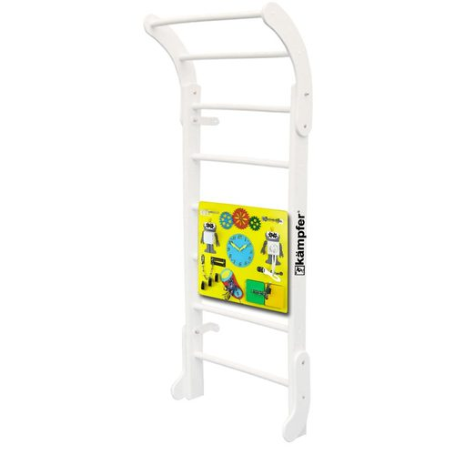 Детский спортивный комплекс Kampfer Baby Step Busyboard Жемчужный/Желтый