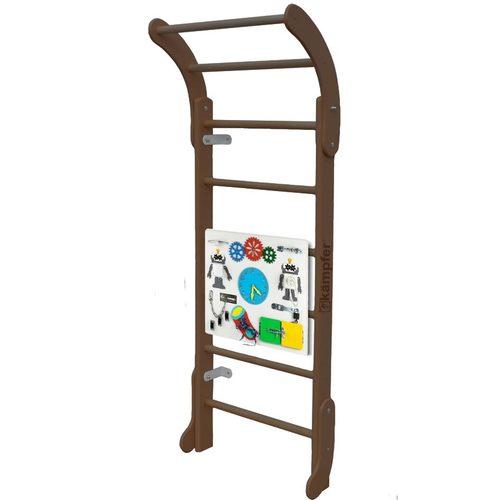 Детский спортивный комплекс Kampfer Baby Step Busyboard Шоколадный/белый