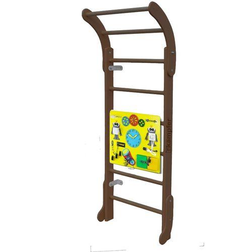 Детский спортивный комплекс Kampfer Baby Step Busyboard Шоколадный/Желтый
