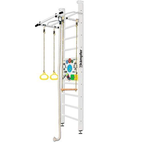 Детский спортивный комплекс Kampfer Helena Ceiling Busyboard 2.67 м, Жемчужный