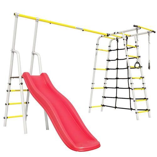 Детский спортивный комплекс для дачи ROMANA Богатырь Плюс - 2 NEW Без качелей