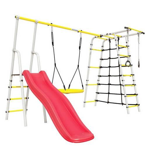 Детский спортивный комплекс для дачи ROMANA Богатырь Плюс - 2 NEW Качели Гнездо