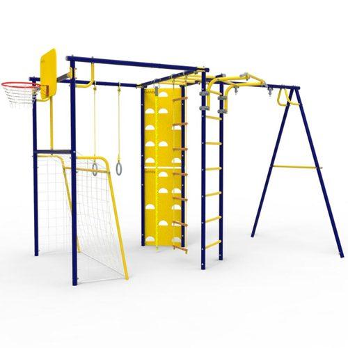 Детский спортивный комплекс для дачи ROKIDS УДСК-7.2 Атлет-К Ультрамарин