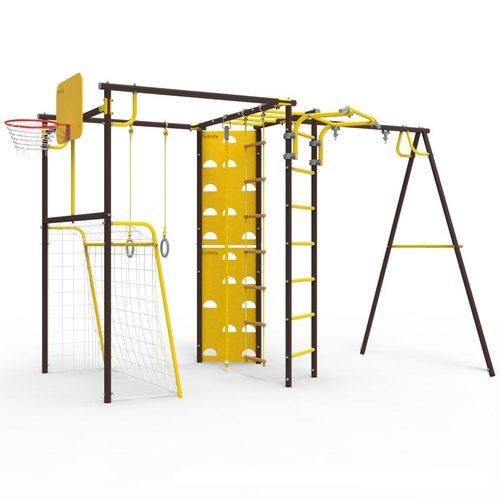 Детский спортивный комплекс для дачи ROKIDS УДСК-7.2 Атлет-К Шоколад