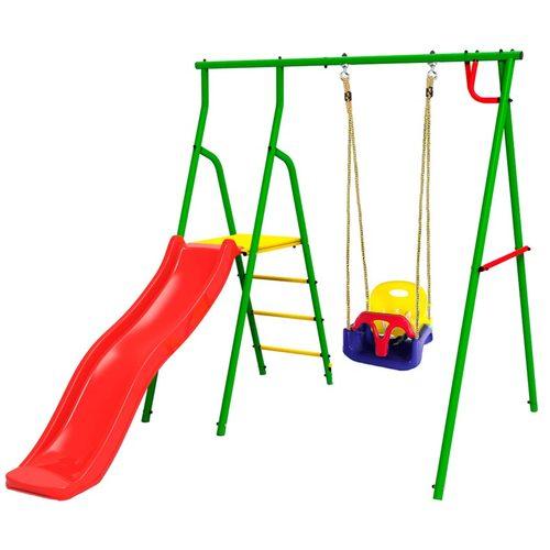 Детский спортивный комплекс для дачи Kampfer Alpen (Swing, Baby, Teen, Young 60, Young 80) Baby - качели 3в1