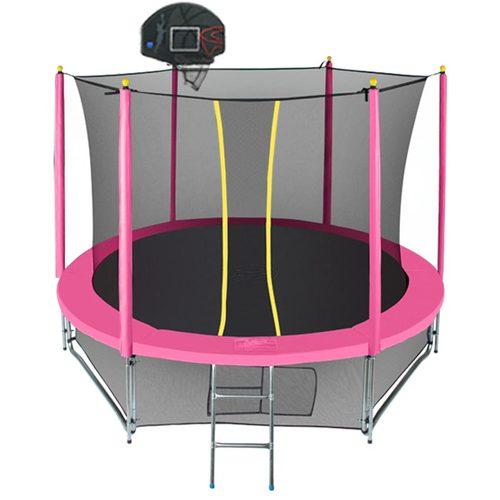 Батут Hasttings Classic Game Green/Pink 3,05 м (10ft) Розовый